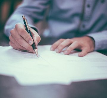 Signing a Medical Release or Consent Form
