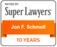 Jon F. Schmoll Super Lawyers logo