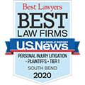 best law firm personal injury litigation 2020