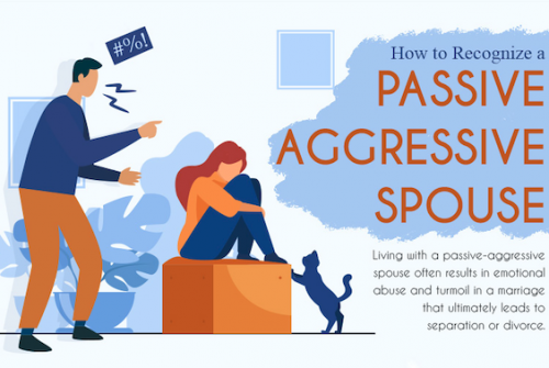 How to Recognize a Passive Aggressive Spouse [infographic]